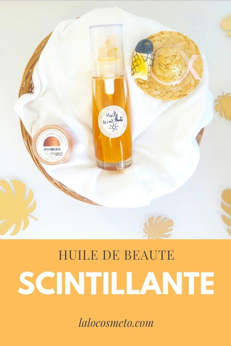 recette huile corps et cheveux huile buriti et macadamia mica or et noisette scintillant huile non grasse