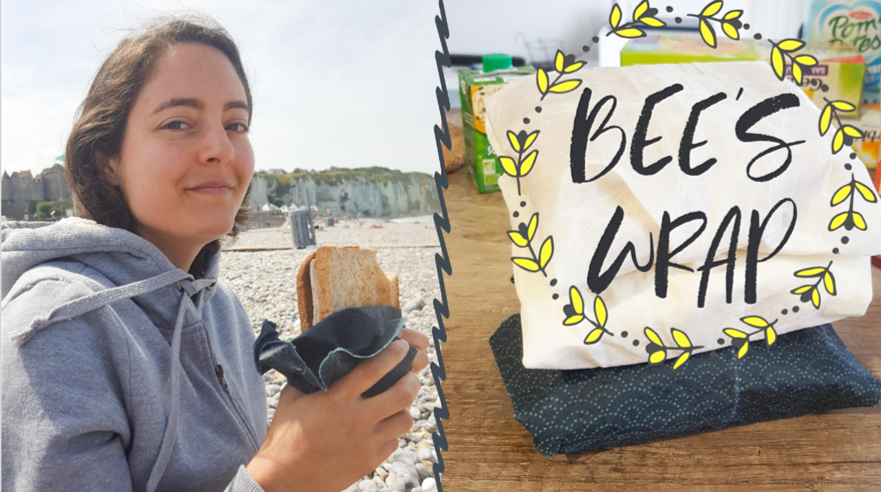 crash test tuto bee's wrap zero déchet