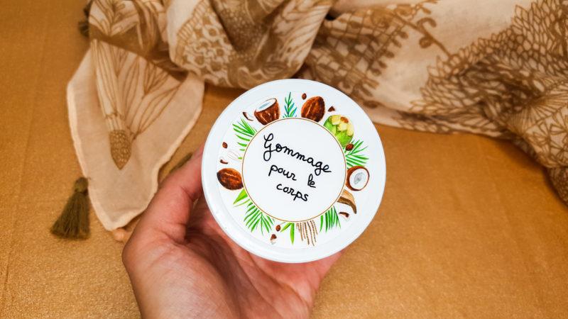 gommage coco et sucre vanillé recette bfm tv