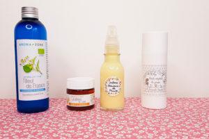crème visage peau sèche huile de prune et lécithine de soja