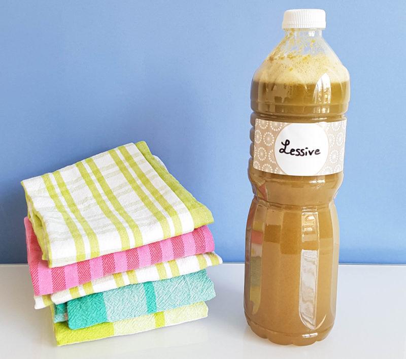 recette de lessive dégraissant détachant savon noir